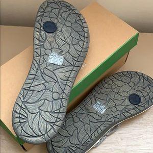 Jambu Shoes - JBU by Jambu ,Key West ,white/grey Sandal
